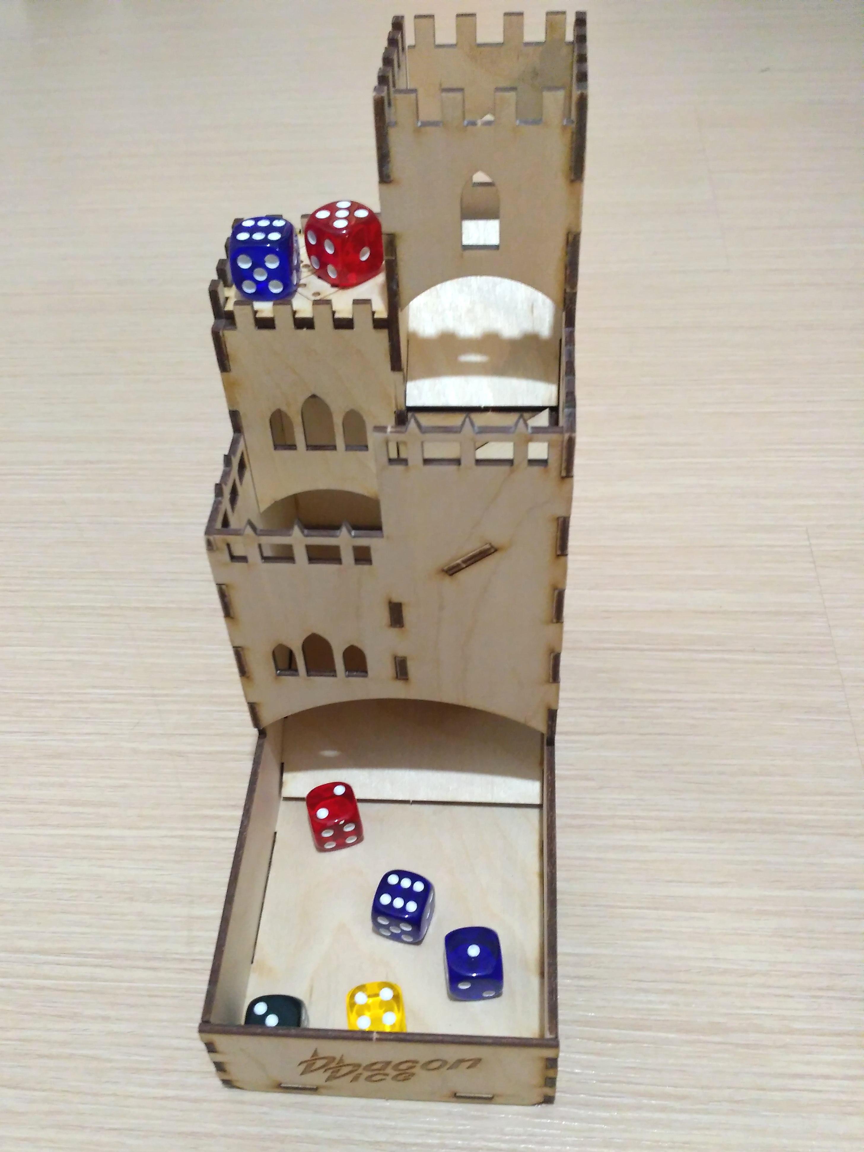 Dice tower своими руками 39